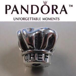 791500 Retired Pandora Chef hat charm